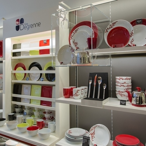 France : Guy Degrenne store by Brio, Toulouse » Retail Design Blog   Retail Design Review   Scoop.it