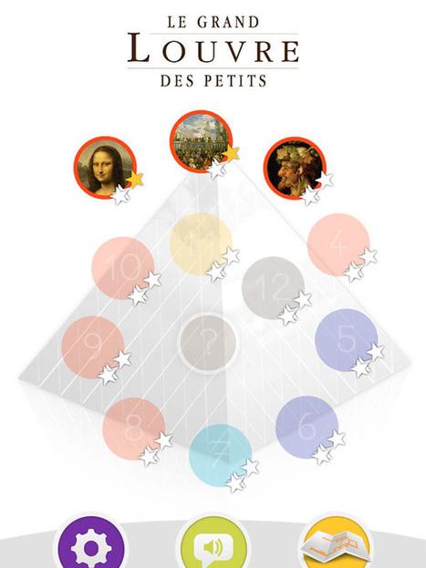 Louvre Kids, Le grand Louvre des petits, par Gallimard jeunesse | Dad is Geek | Outils et  innovations pour mieux trouver, gérer et diffuser l'information | Scoop.it