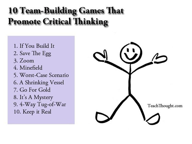 critical thinking exercises adults Help her to develop her critical thinking skills with a group of friends using open-ended activities that teach her to question—and question again—then think for.