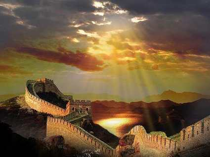 The Great Wall Of China Sunscape   The Best Places in the World to Travel   Scoop.it