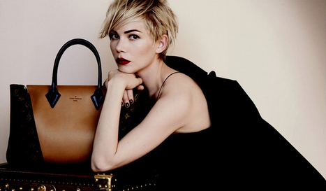 Michelle Williams Wins as the New Face of Louis Vuitton | Fashion News by JustLuxe | trendy handbags | Scoop.it