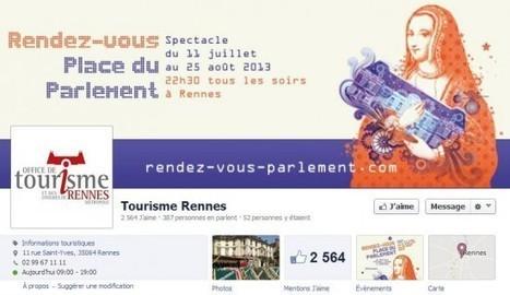 Community management : l'exemple réussi de l'Office de Tourisme de Rennes   Communication 2.0 et content marketing   Scoop.it