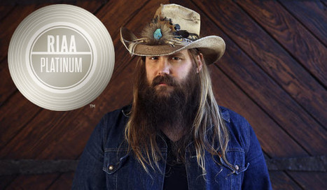 "Chris Stapleton's ""Tennessee Whiskey"" Certified Platinum 
