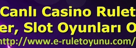 Canlı Casino Rulet, Poker, Slot Oyunları Oyna | Türkçe Rulet Oyna, Rulet Oyunu İndir | Casino | Scoop.it