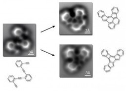Imaging Breakthrough: See Atomic Bonds Before and After Molecular Reaction - Wired | SFFWRTCHT | Scoop.it