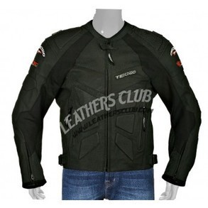 Teknic Mercury Black Color Biker Jacket   Men's Leather Jackets   Scoop.it