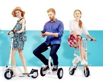 Airwheel Z5 Smart Folding Electric Standing Scooter is Detail-Oriented | Press Release | Scoop.it