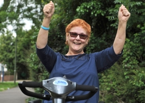 Tina thrilled as she wins battle over her scooter - Portsmouth News | All about batteries | Scoop.it