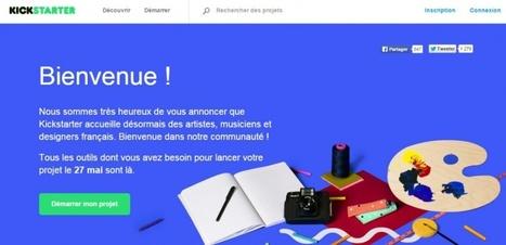Crowdfunding : Kickstarter arrive, les plateformes françaises doivent-elles trembler ?   Financement participatif - crowdfunding   Scoop.it