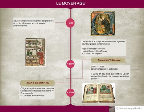 L'Hisoire du vin et de la médecine | Ma thèse vin et santé | Scoop.it