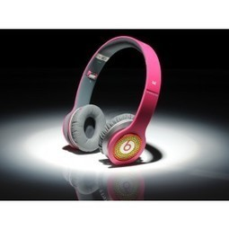 Beats by Dr. Dre Solo Diamond Colorful Headphones Rose Red MB205 | CheapBeatsbyDreoutlet | Scoop.it