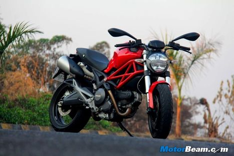 Ducati Monster 795 Test Ride Review | motorbeam.com | Desmopro News | Scoop.it