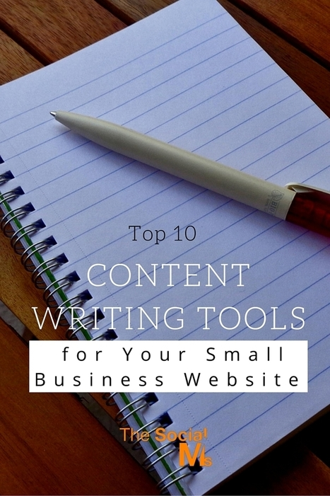 Top 10 Content Writing Tools for Your Small Business Website | WordPress Website Optimization | Scoop.it