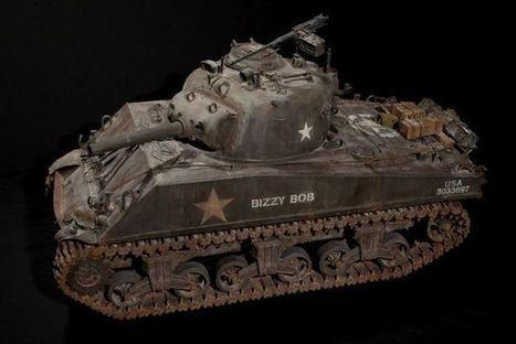 Busy Bob's 1/6 M4A3(105) Sherman... - Photo Features | Francois' Scale Modeling Gazette | Scoop.it