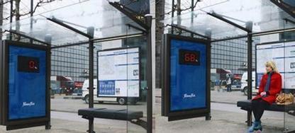 Parada de autobús que te dice el peso: Publicidad Fitness First | Seo, Social Media Marketing | Scoop.it