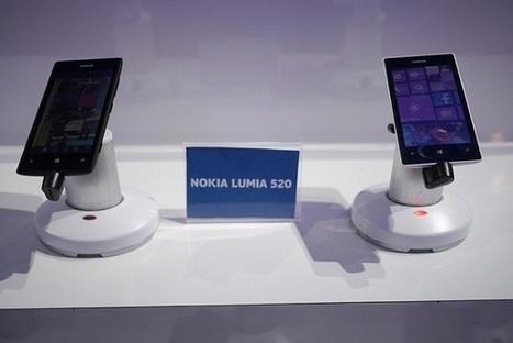 Le Nokia Lumia 520 est le plus utilisé des Windows Phone | Actualité digimobile | Scoop.it