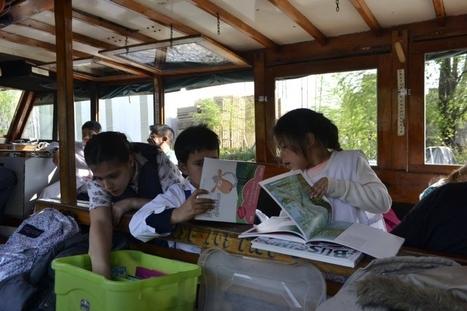Libros a bordo: una propuesta para leer en las lanchas escolares | Escuela, biblioteca, bibliotecari@s | Scoop.it
