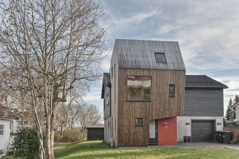 An Irregular Polygonal Addition | Building with wood | Scoop.it