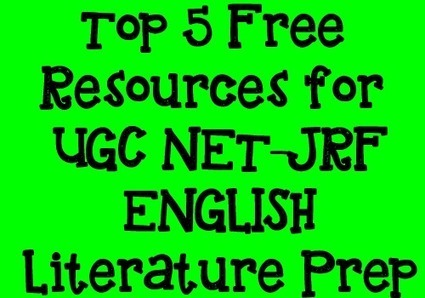 Learning Skills: Top 5 Free Resources for UGC NET English Exam Preparation | News | Scoop.it