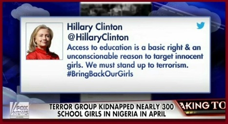#BB4SP: Why did Hillary fight to keep Boko Haram off terror list? | Sarah Palin | Scoop.it
