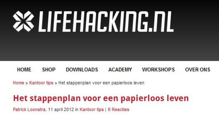 Het stappenplan voor een papierloos leven - Lifehacking | Edu-Curator | Scoop.it