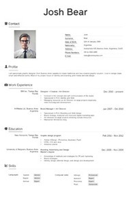 Create your original resume online for free. | Kickresume | technologies | Scoop.it