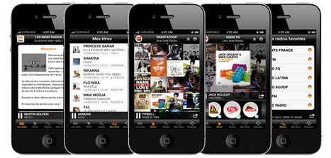 Unique 'Wall of Sound' feature of The Indés Radios app retrieves album covers and metadata thanks to Music Story API | Radio 2.0 (En & Fr) | Scoop.it