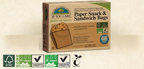 FSC Certified / Certified Compostable Snack and Sandwich Bags FSC-C005046 | If You Care | Custom Wood Garage doors | Scoop.it