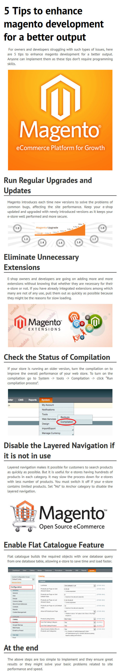 5 Tips to enhance magento development for a better output | The future of outsourcing software development companies | Scoop.it