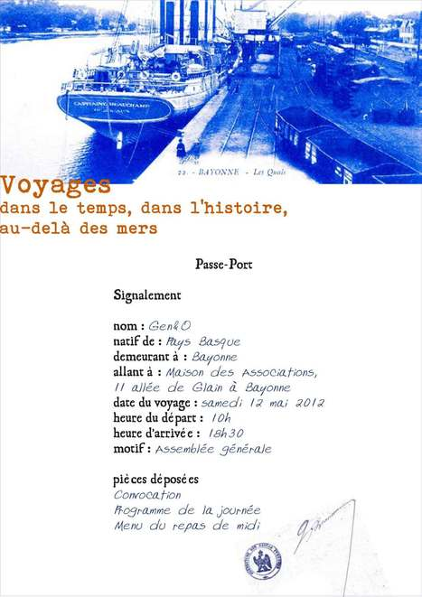 Gen&O : Assemblée générale 2012 - Gen&O | Généalogie en Pyrénées-Atlantiques | Scoop.it