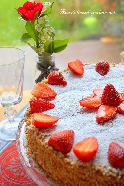 Millefeuille aux fraises (recette facile) | Recette Dessert Gâteau & Cake | Scoop.it