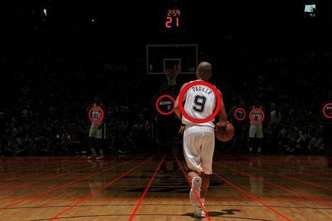 La NBA veut révolutionner le basket grâce aux capteurs de données   Le Sport Digital   Scoop.it