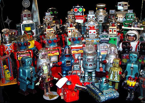 Dark Roasted Blend: Toy Robots to Have and to Hold   Vintage, Robots, Photos, Pub, Années 50   Scoop.it