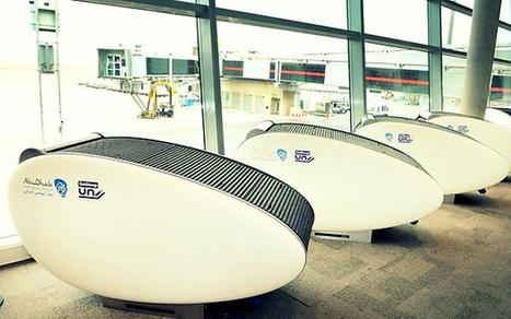 Sleeping pods installed in Abu Dhabi - Telegraph | Designer | Scoop.it