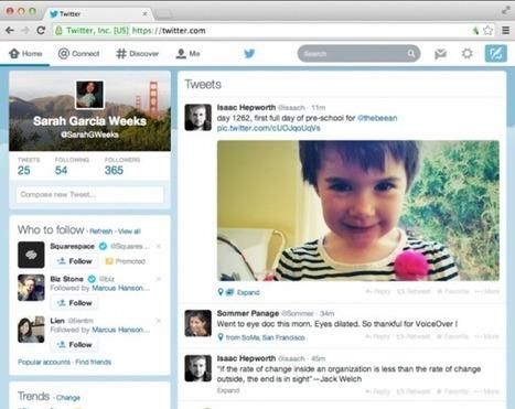 Twitter presenta su renovada estética web acorde a sus aplicaciones móviles | Redes sociales | Scoop.it