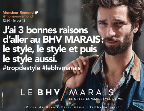 #tropdestyle #lebhvmarais ! | GNN | Retail and co | Scoop.it