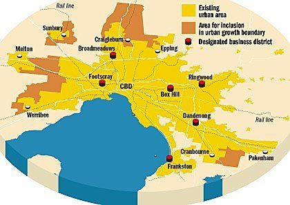 Green land cut back as Melbourne grows much bigger   Compact Cities   Scoop.it
