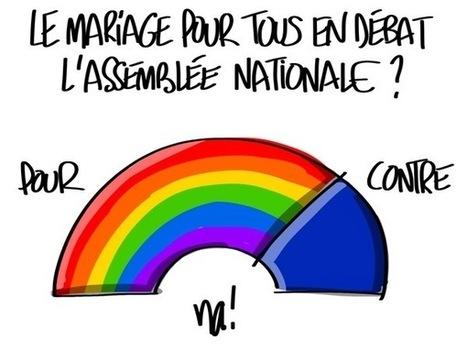 Le mariage pour tous en débat à l'assemblée nationale ? | Dessinateurs de presse | Scoop.it