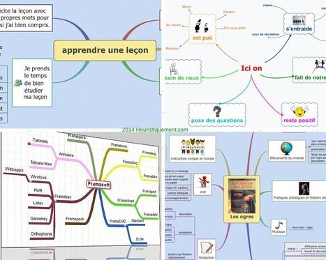 Mind Mapping à l'école | TICECDDP10 | Scoop.it