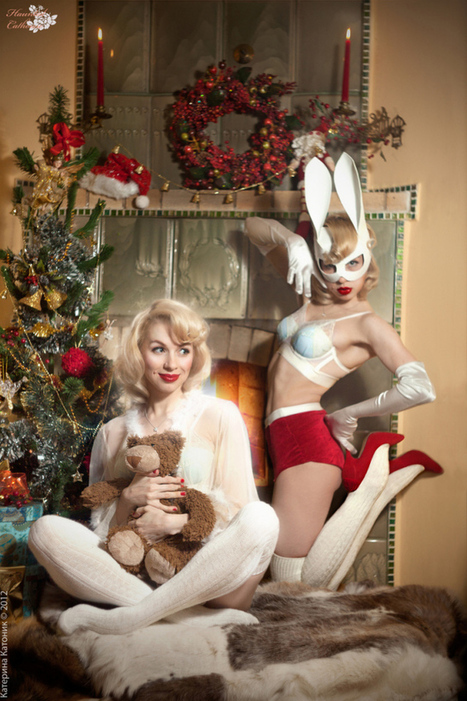 Photographer Katerina Katonik Heats Up Cold Weather & Christmas Mornings | Rockabilly | Scoop.it