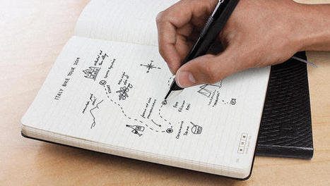 This New Moleskine Is Like An iPad Made Of Paper | Tools for a Digital Worker | Scoop.it