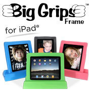 Big Grips Frame - The iPad Case for Kids | Michigan Assistive Technology Program | Scoop.it