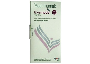 Adalimumab injection Online   Buy Exemptia 40 mg Zydus   Generic Exemptia USA, UK supply   USA, UK, Canada Online Medicine Pharmacy   Scoop.it