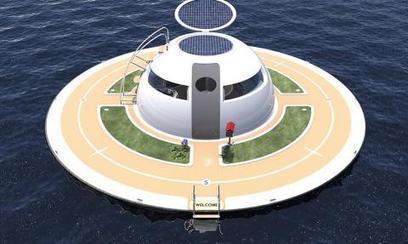 Habitation mobile : une « capsule » flottante totalement autonome en énergie | Habitation autonome | Scoop.it