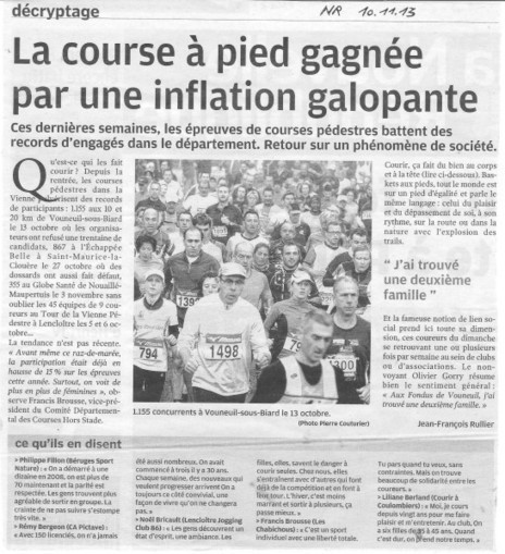Article de presse du 10 11 2013 | Chatellerault, secouez-moi, secouez-moi! | Scoop.it