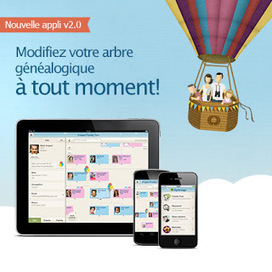 Rhit Genealogie - Le Blog: Test de la version 2.0 de l'application mobile de MyHeritage | Rhit Genealogie | Scoop.it