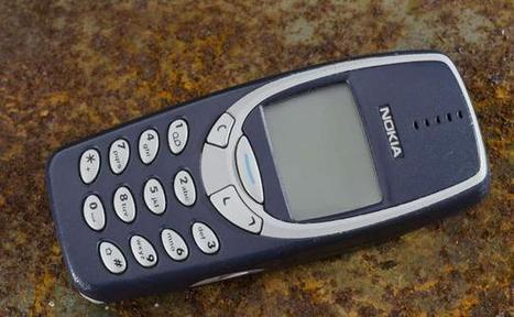 Le 3310 de Nokia remis en vente | France | Scoop.it