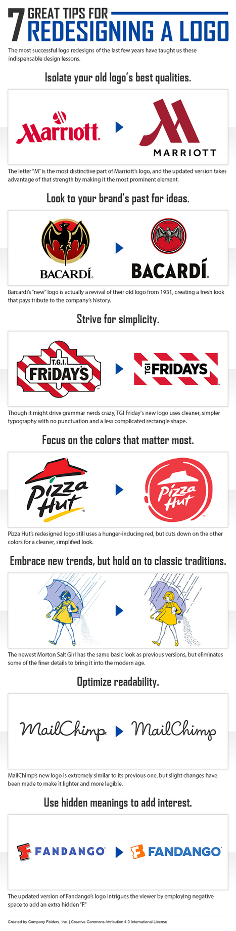 Top 10 Best (and Worst) Company Logo Redesigns Ever #infographic | MarketingHits | Scoop.it