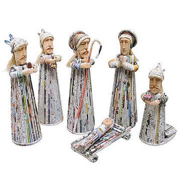 Recycled  Nativity Sets | Reciclar | Scoop.it