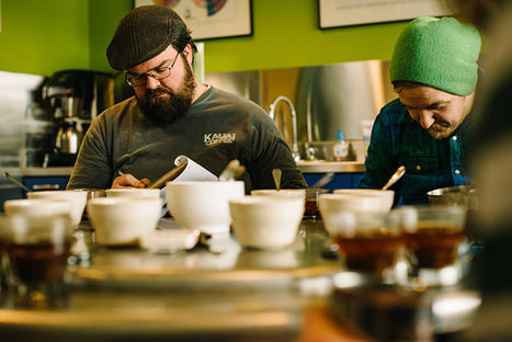 Slurping in Context:  A Look at Intelligentsia's New Cupping Form | Coffee News | Scoop.it